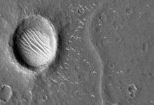 Photo of चीन ने तियानवेन-1 प्रोब यान से ली गयी मंगल की तस्वीरें जारी कीं