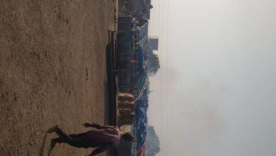 Photo of रायपुर: गौठान में लगा आग पशुओं के लिए रखा सैकड़ो पैरा का बंडल जल कर खाक