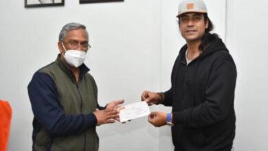 Photo of बॉलीवुड सिंगर जुबिन नौटियाल ने चमोली आपदा पीड़ितों के लिये दिये 13 लाख रुपये, सीएम ने जताया आभार