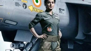 Photo of कंगना रनोट ने फिल्म 'तेजस' की मुंबई में पूरी की शूटिंग, ये फिल्में भी हैं लाइन में