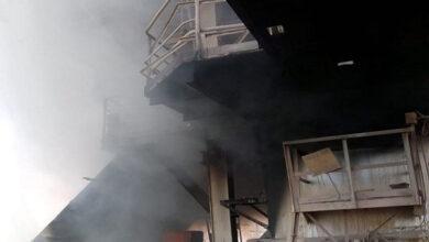 Photo of भिलाई स्टील प्लांट का RMP-2 आग की चपेट में, 60 फीट ऊपर तक दिखाई दी आग की लपटे