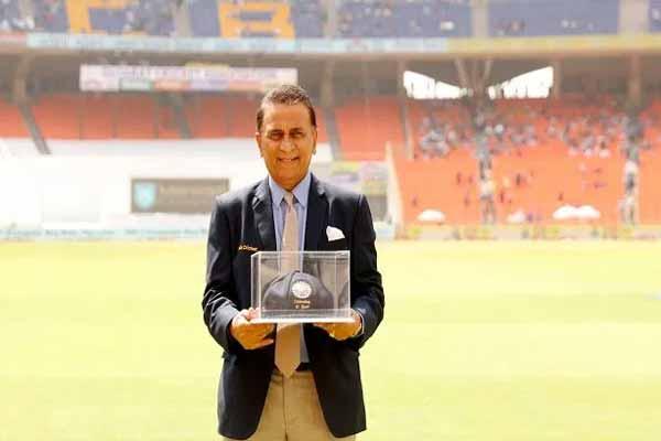 Photo of टेस्ट क्रिकेट में पदार्पण के 50 साल पूरे होने पर गावस्कर का सम्मान