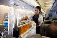 Photo of दो घंटे से कम अवधि वाली उड़ानों में भोजन दिए जाने पर रोक