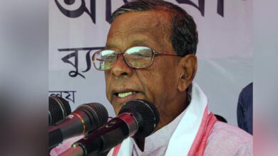 Photo of असम के पूर्व मुख्यमंत्री भूमिधर बर्मन का निधन