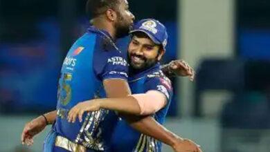 Photo of हैदराबाद की लगातार तीसरी हार, मुंबई इंडियंस ने सनराइजर्स को 13 रनों से रौंदा