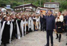 Photo of शी चिनफिंग ने किया अरुणाचल प्रदेश की सीमा से लगे तिब्बती शहर का दौरा